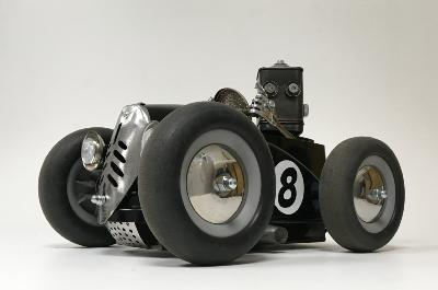 Hot Rod n°8 noir
